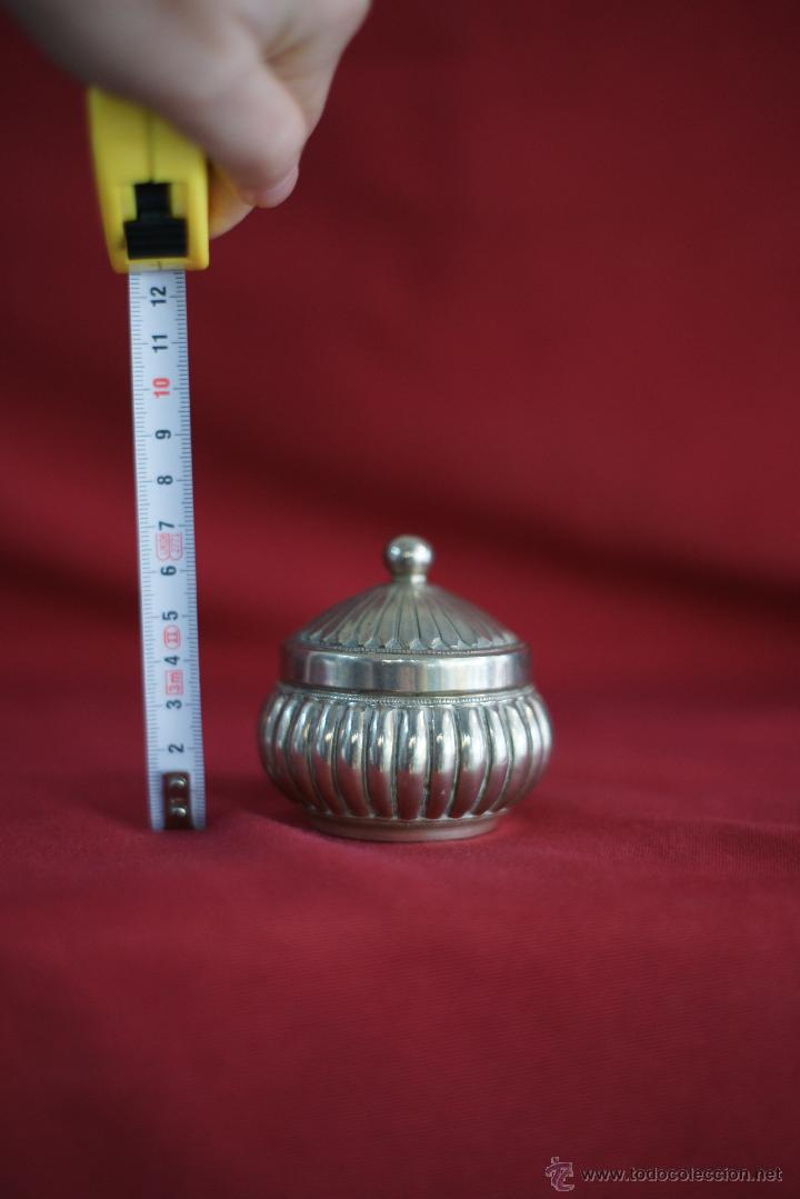 Antigüedades: caja en PLATA LEY CON CONTRASTE - Foto 4 - 54249883
