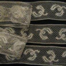 Antigüedades: ANTIGUO ENCAJE DE VALENCIENNES S. XIX. Lote 54251816