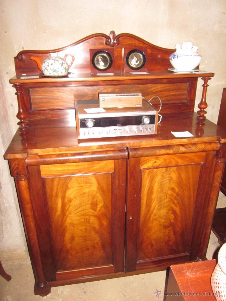 Mueble recibidor de madera antiguo en perfectas comprar - Perchero recibidor antiguo ...