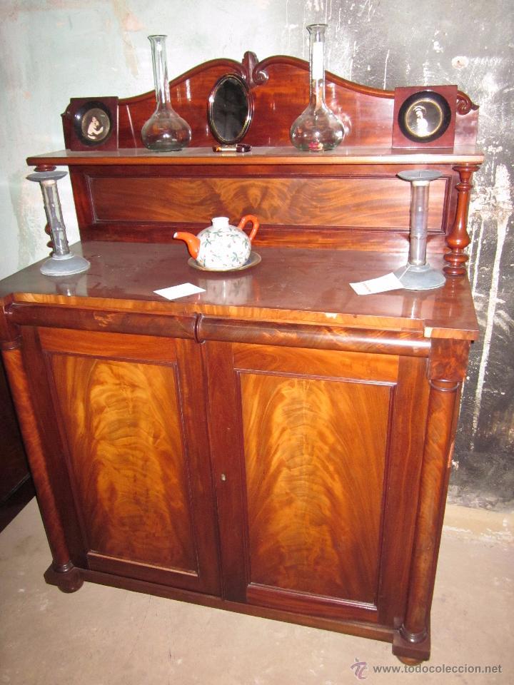 Mueble recibidor de madera antiguo en perfectas comprar - Muebles madera antiguos ...