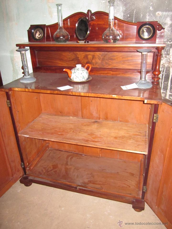Mueble recibidor de madera antiguo en perfectas comprar - Muebles de madera antiguos ...