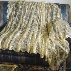 Antigüedades: VELO DE BLONDA. Lote 54255812
