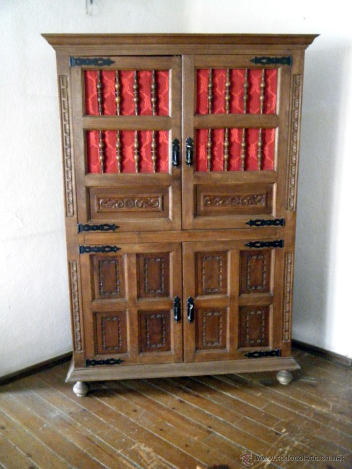 Artesanato Nos Açores ~ alacena, aparador, librería estilo castellano Comprar Muebles Auxiliares Antiguos en