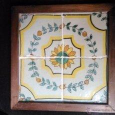 Antigüedades: AZULEJOS CATALANES. Lote 54268617