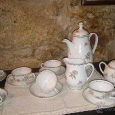 Antigüedades: JUEGO DE CAFE PORCELANA. Lote 54275009