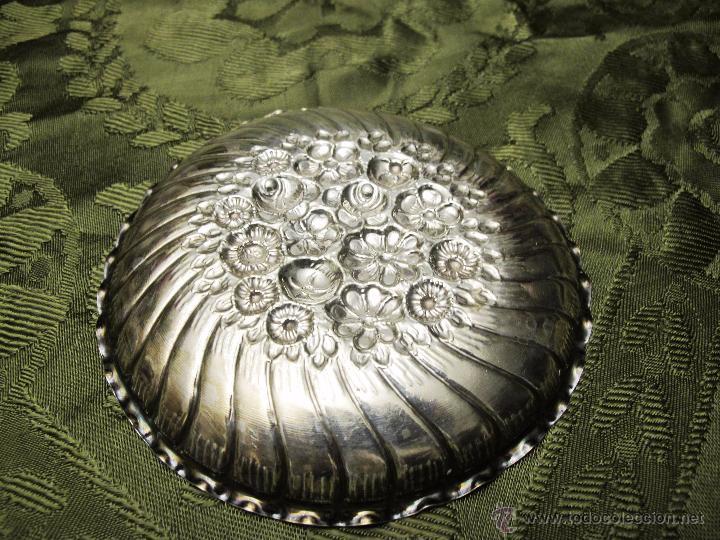 Antigüedades: BANDEJITA DE PLATA LABRADA CON PUNZONES - Foto 2 - 54275196