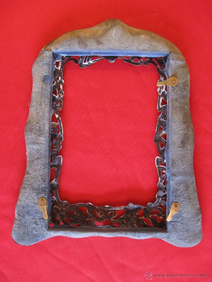Antigüedades: Portafotos modernista de plata labrada - Foto 5 - 54291565