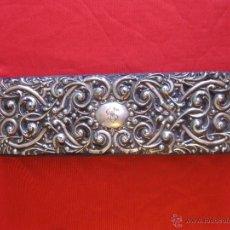 Antigüedades: CAJA JOYERO DE PLATA SIGLO XVIII. Lote 54291973