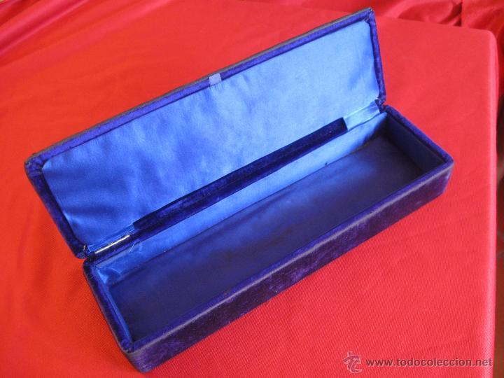 Antigüedades: Caja joyero de plata siglo XVIII - Foto 2 - 54291973