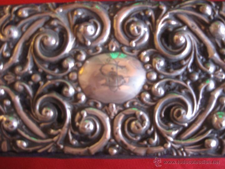 Antigüedades: Caja joyero de plata siglo XVIII - Foto 4 - 54291973
