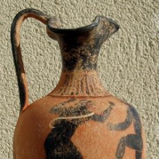 Antigüedades: ENÓCOE - CERÁMICA GRIEGA (REPRODUCCIÓN). Lote 54294216