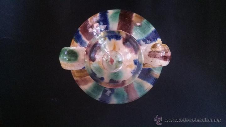 Antigüedades: Cántaro pequeño de Alhabia (Almería) con tapadera - Foto 4 - 54298876