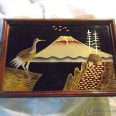 Antigüedades: CENTRO MESA - TABLERO DE SOPORTE - JAPON. Lote 54304245