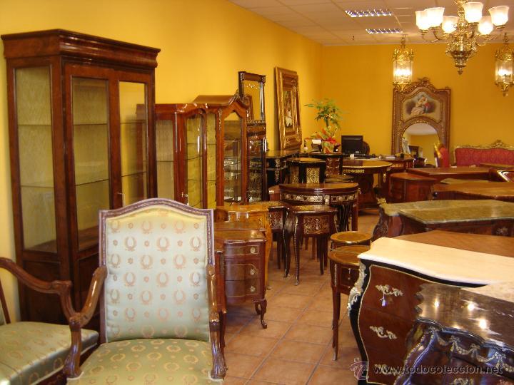 Lote 100 muebles antiguos cierre por jubilaci n comprar - Muebles antiguos madrid ...