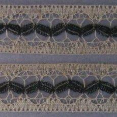 Antigüedades: ANTIGUO ENCAJE DE BOLILLO FINO S. XIX. Lote 54313068