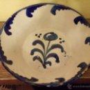 Antigüedades: ANTIGUO LEBRILLO FUENTE CERAMICA FAJALAUZA. Lote 54325487