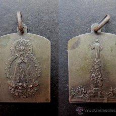 Antigüedades: MEDALLA RELIGIOSA ANTIGUA VIRGEN DE LOS CERROS MADRID SIGLO XIX. Lote 54329977