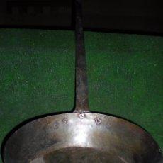Antigüedades: SARTÉN DE HIERRO. Lote 54340797