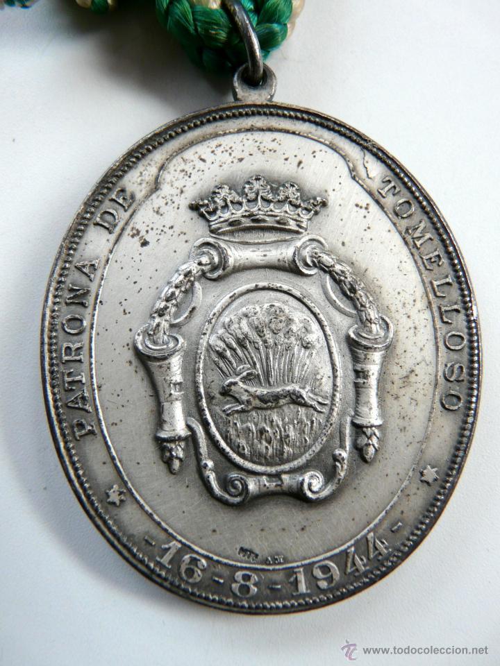 Antigüedades: MEDALLA NUESTRA SEÑORA LA VIRGEN DE LAS VIÑAS - Foto 2 - 54353140