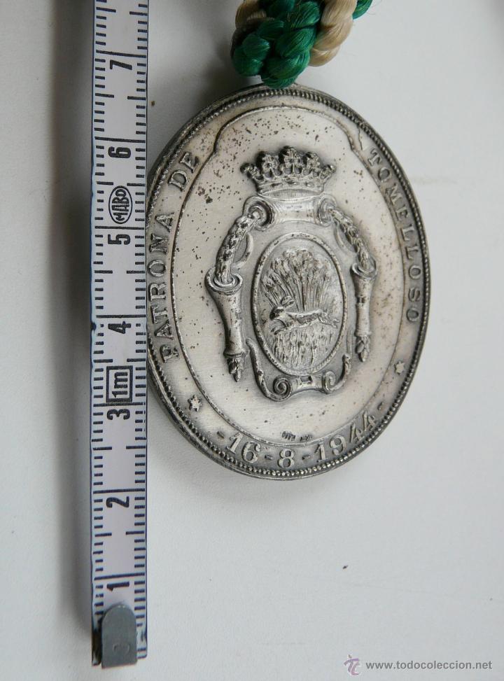 Antigüedades: MEDALLA NUESTRA SEÑORA LA VIRGEN DE LAS VIÑAS - Foto 4 - 54353140