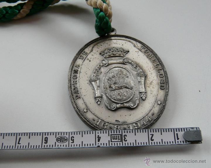 Antigüedades: MEDALLA NUESTRA SEÑORA LA VIRGEN DE LAS VIÑAS - Foto 8 - 54353140