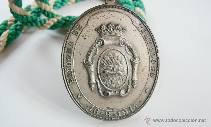 Antigüedades: MEDALLA NUESTRA SEÑORA LA VIRGEN DE LAS VIÑAS - Foto 12 - 54353140