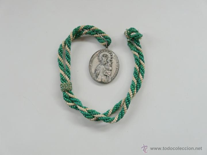 Antigüedades: MEDALLA NUESTRA SEÑORA LA VIRGEN DE LAS VIÑAS - Foto 13 - 54353140