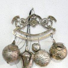 Antigüedades: ENORME PENCA DE BALANGANDAN PARA PROTECCION DEL HOGAR - BRASIL. Lote 54377808