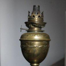 Antigüedades: QUINQUÉ DE LATÓN ANTIGUO. Lote 54383647