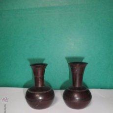 Antigüedades: FLOREROS MADERA DE ÉBANO. Lote 54388824