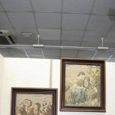 Antigüedades: TAPICES ANTIGUOS EN PERFECTO ESTADO. Lote 54389878