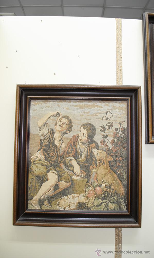 Antigüedades: TAPICES ANTIGUOS EN PERFECTO ESTADO - Foto 5 - 54389878