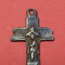 Antigüedades: CRUZ ANTIGUA CRUCIFIJO. Lote 54415860