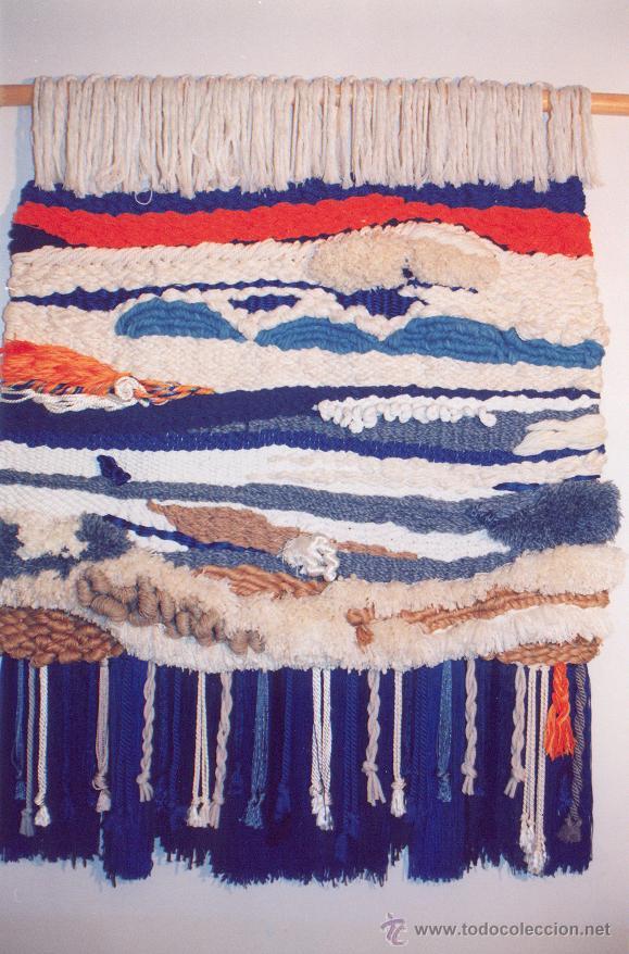 Antigüedades: TAPIZ DE LANA Y SEDA TEJIDO A MANO EN MARRUECOS ( 1991 - 1996 ) - Foto 5 - 52431666