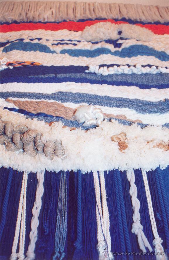Antigüedades: TAPIZ DE LANA Y SEDA TEJIDO A MANO EN MARRUECOS ( 1991 - 1996 ) - Foto 11 - 52431666
