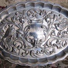 Antigüedades: BANDEJA DE PLATA PUNZONADA.. Lote 110489686