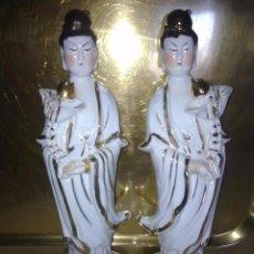 Antigüedades: FIGURAS DE PORCELANA CHINA S XX. Lote 54437439