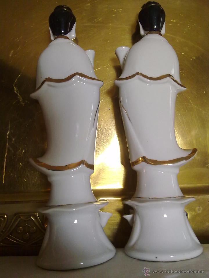 Antigüedades: Figuras de Porcelana China s XX - Foto 3 - 54437439