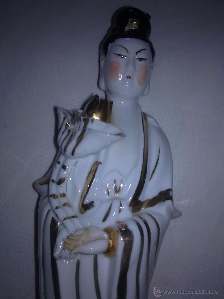 Antigüedades: Figuras de Porcelana China s XX - Foto 5 - 54437439