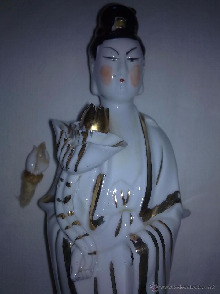 Antigüedades: Figuras de Porcelana China s XX - Foto 6 - 54437439