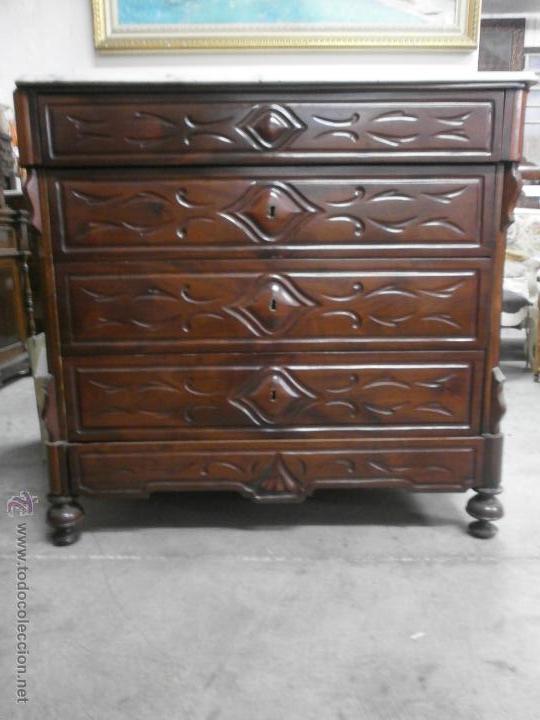 Antigua c moda isabelina ditada madera comprar - Comodas antiguas restauradas fotos ...