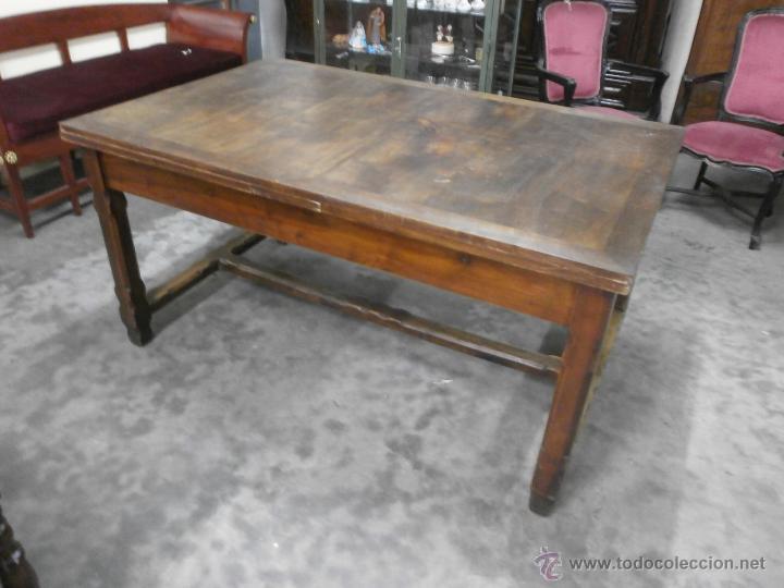 Antigua mesa - comedor, salón etc - madera noga - Vendido en Venta ...
