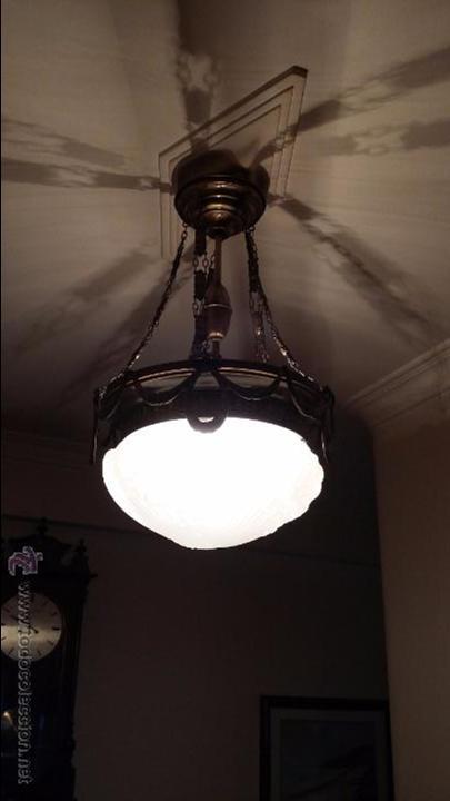 LAMPARA TECHO (Antigüedades - Iluminación - Lámparas Antiguas)