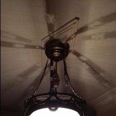 Antigüedades: LAMPARA TECHO. Lote 91706139