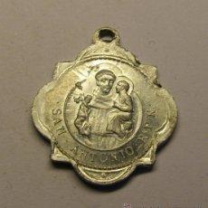 Antigüedades: MEDALLA RELIGIOSA ANTIGUA, SAN ANTONIO DE PADUA.. Lote 54483886