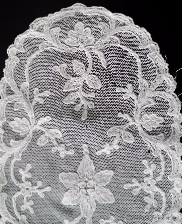 Antigüedades: Antiguo tapete de encaje - Foto 3 - 82922832
