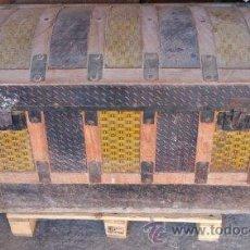 Antigüedades: BAUL PARA RESTAURAR. Lote 54497611