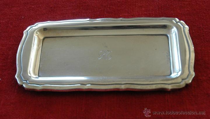 Antigüedades: Juego tocador de plata - Foto 8 - 54179789