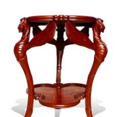 "Antigüedades: MESA TABLE - GUERIDON ""LES LIBELULES"" ""DRAGONFLY"" ESTILO ART NOUVEAU, EMILE GALLE – MODERNISTA. Lote 54511750"