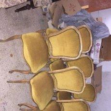 Antigüedades: JUEGO DE SEIS SILLAS . Lote 54518131